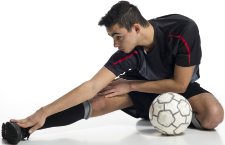 Le stretching en football